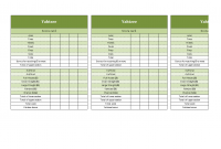 Yahtzee Score Sheets In Excel Templates At Allbusinesstemplates